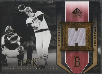 2004 SP Legendary Cuts #CF Carlton Fisk Historic Swatches Pants