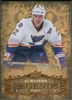 2008/09 Upper Deck Artifacts #107 Al MacInnis LEG /999