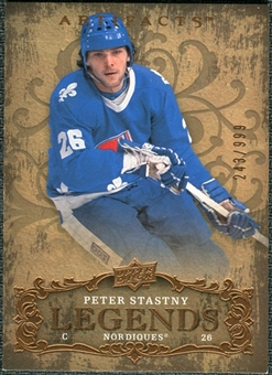 2008/09 Upper Deck Artifacts #108 Peter Stastny LEG /999