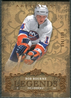 2008/09 Upper Deck Artifacts #117 Bob Bourne LEG /999