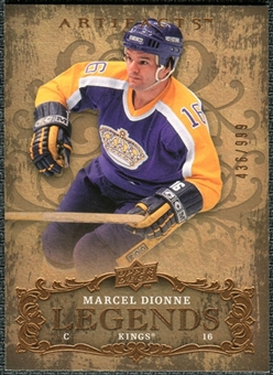 2008/09 Upper Deck Artifacts #126 Marcel Dionne LEG /999