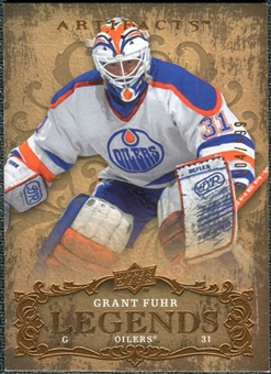 2008/09 Upper Deck Artifacts #129 Grant Fuhr LEG /999