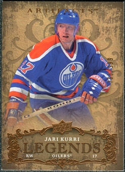 2008/09 Upper Deck Artifacts #131 Jari Kurri LEG /999