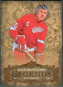 2008/09 Upper Deck Artifacts #132 Alex Delvecchio LEG /999