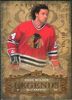 2008/09 Upper Deck Artifacts #136 Doug Wilson LEG /999