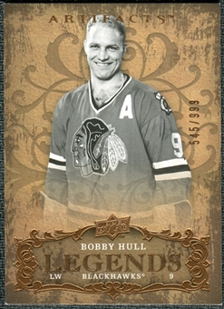 2008/09 Upper Deck Artifacts #138 Bobby Hull LEG /999
