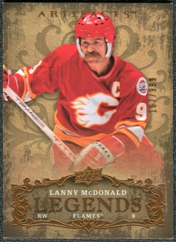 2008/09 Upper Deck Artifacts #141 Lanny McDonald LEG /999