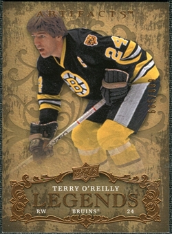 2008/09 Upper Deck Artifacts #150 Terry O'Reilly LEG /999