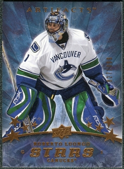 2008/09 Upper Deck Artifacts #152 Roberto Luongo S /999