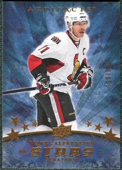 2008/09 Upper Deck Artifacts #167 Daniel Alfredsson S /999