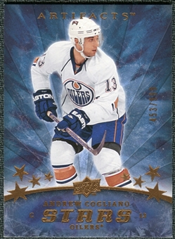 2008/09 Upper Deck Artifacts #178 Andrew Cogliano S /999