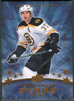 2008/09 Upper Deck Artifacts #195 Patrice Bergeron S /999
