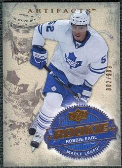 2008/09 Upper Deck Artifacts #206 Robbie Earl RC /999