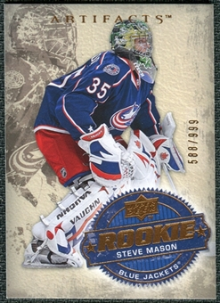2008/09 Upper Deck Artifacts #208 Steve Mason RC /999