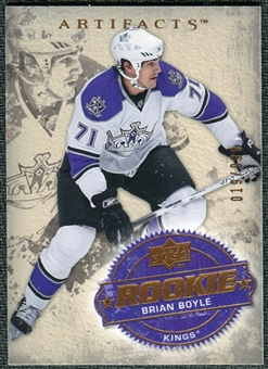 2008/09 Upper Deck Artifacts #209 Brian Boyle RC /999
