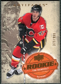 2008/09 Upper Deck Artifacts #214 Tim Ramholt RC /999