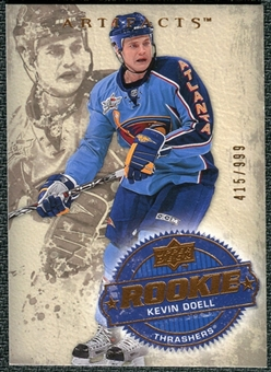 2008/09 Upper Deck Artifacts #220 Kevin Doell RC /999