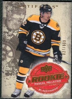 2008/09 Upper Deck Artifacts #222 Pascal Pelletier RC /999