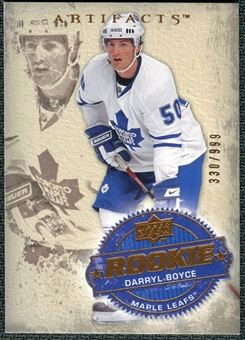 2008/09 Upper Deck Artifacts #226 Darryl Boyce RC /999