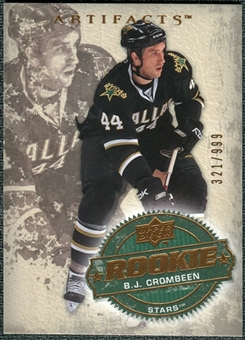 2008/09 Upper Deck Artifacts #231 B.J. Crombeen RC /999