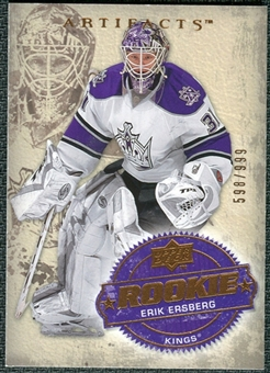 2008/09 Upper Deck Artifacts #238 Erik Ersberg RC /999