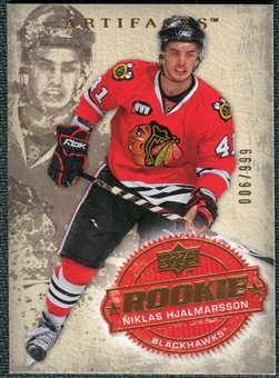 2008/09 Upper Deck Artifacts #242 Niklas Hjalmarsson RC /999