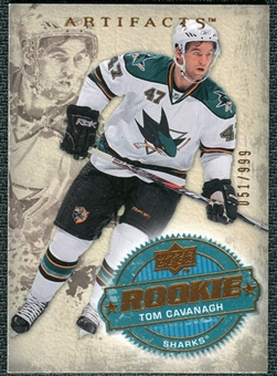 2008/09 Upper Deck Artifacts #244 Tom Cavanagh RC /999