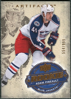 2008/09 Upper Deck Artifacts #249 Adam Pineault RC /999