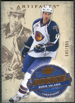 2008/09 Upper Deck Artifacts #250 Boris Valabik RC /999