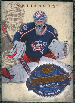 2008/09 Upper Deck Artifacts #254 Dan LaCosta RC /999