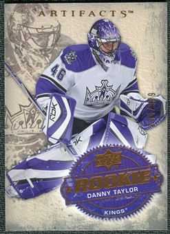 2008/09 Upper Deck Artifacts #255 Danny Taylor RC /999
