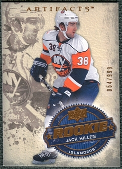 2008/09 Upper Deck Artifacts #259 Jack Hillen RC /999