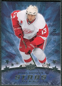 2008/09 Upper Deck Artifacts Silver #181 Pavel Datsyuk S /100
