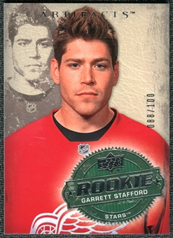 2008/09 Upper Deck Artifacts Silver #260 Garrett Stafford RC /100