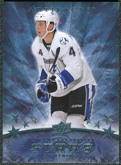2008/09 Upper Deck Artifacts Blue #155 Vincent Lecavalier S /50