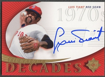 2005 Ultimate Signature #LT1 Luis Tiant Decades Sox Auto