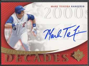 2005 Ultimate Signature #MT Mark Teixeira Decades Auto