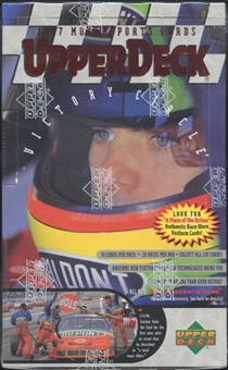 1997 Upper Deck Victory Circle Racing Hobby Box