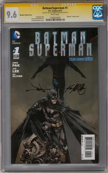 Batman/Superman #1 CGC 9.6 (W) Signature Series (Lee & Rocafort) *1329223004*