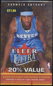 2003/04 Fleer Ultra Basketball Blaster Box