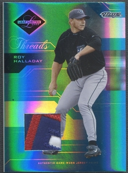 2005 Leaf Limited #91 Roy Halladay Threads Patch #091/100