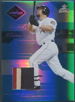 2005 Leaf Limited #17 Jeff Bagwell Threads Patch #072/100