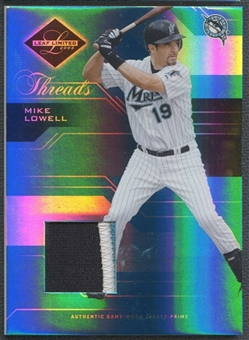 2005 Leaf Limited #58 Mike Lowell Threads Patch #094/100