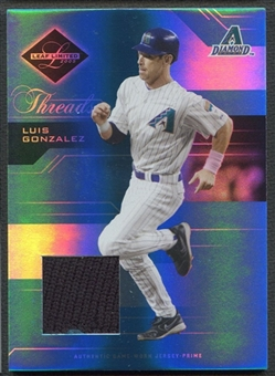 2005 Leaf Limited #86 Luis Gonzalez Threads Patch #019/100