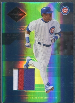 2005 Leaf Limited #175 Sammy Sosa Threads Patch #054/100