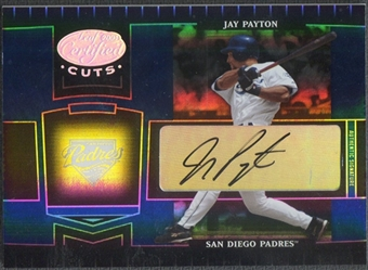 2004 Leaf Certified Cuts #158 Jay Payton Marble Signature Blue Auto #19/75