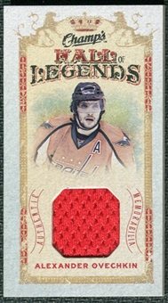 2009/10 Upper Deck Champ's Hall of Legends Memorabilia #HLAO Alexander Ovechkin