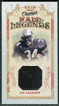 2009/10 Upper Deck Champ's Hall of Legends Memorabilia #HLBO Bo Jackson