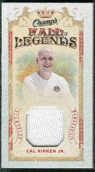 2009/10 Upper Deck Champ's Hall of Legends Memorabilia #HLCR Cal Ripken Jr.