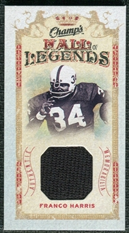 2009/10 Upper Deck Champ's Hall of Legends Memorabilia #HLFH Franco Harris